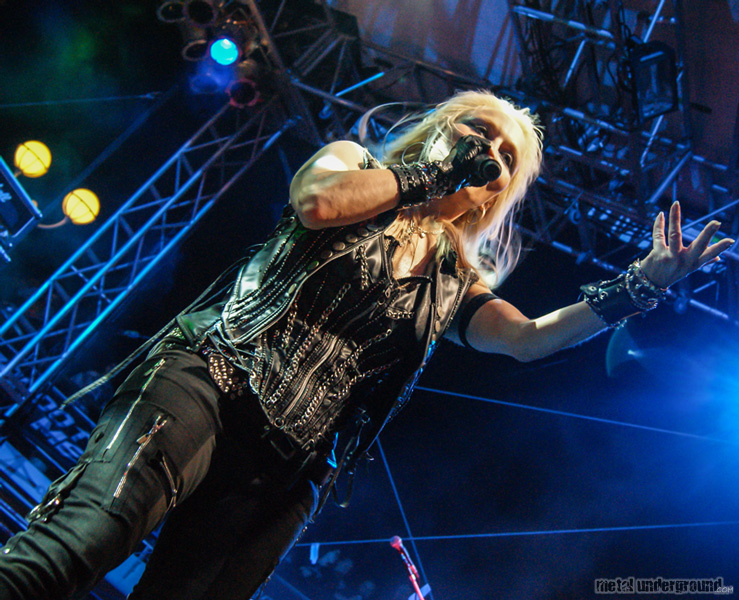 Doro @ 70,000 Tons Of Metal 2013, Day 3
