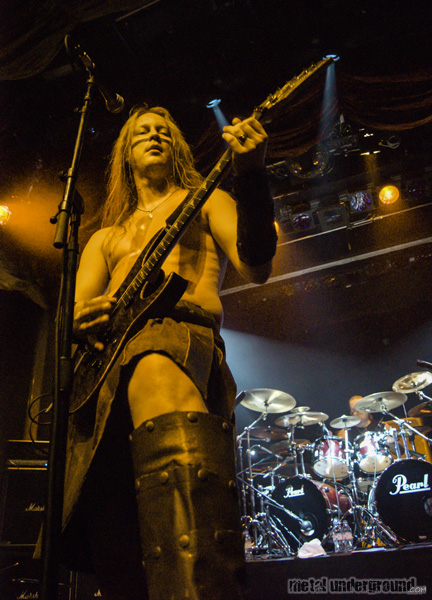 Ensiferum @ 70,000 Tons Of Metal 2013, Day 3