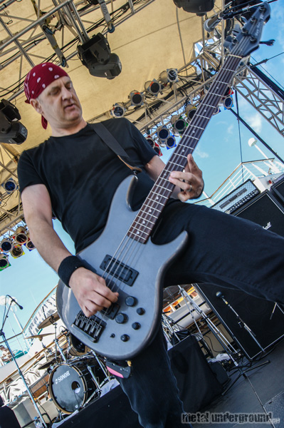 Anacrusis @ 70,000 Tons Of Metal 2013, Day 4