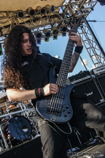 Cryptopsy @ 70,000 Tons Of Metal 2013, Day 4