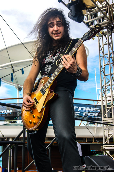 Nightmare @ 70,000 Tons Of Metal 2013, Day 4
