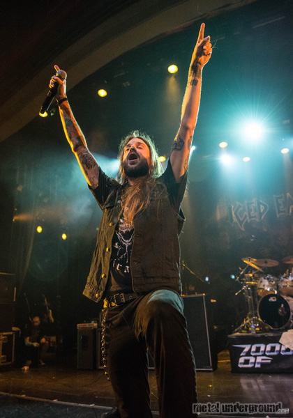 Iced Earth @ 70,000 Tons Of Metal 2016, Day 1