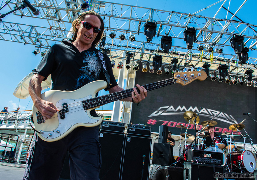 Gamma Ray @ 70,000 Tons Of Metal 2016, Day 2