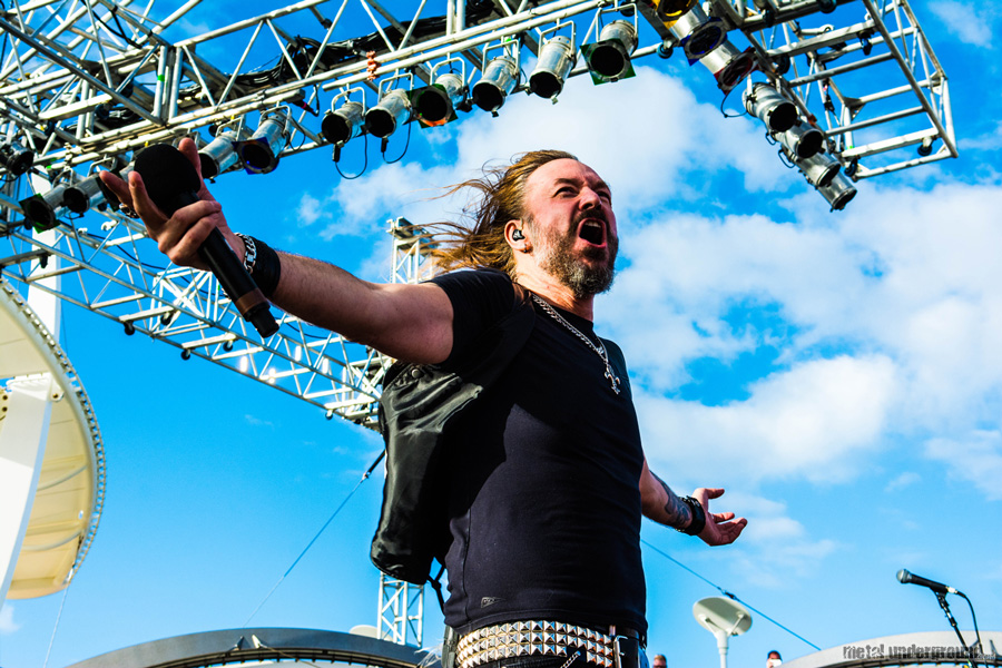 Hammerfall @ 70,000 Tons Of Metal 2016, Day 2