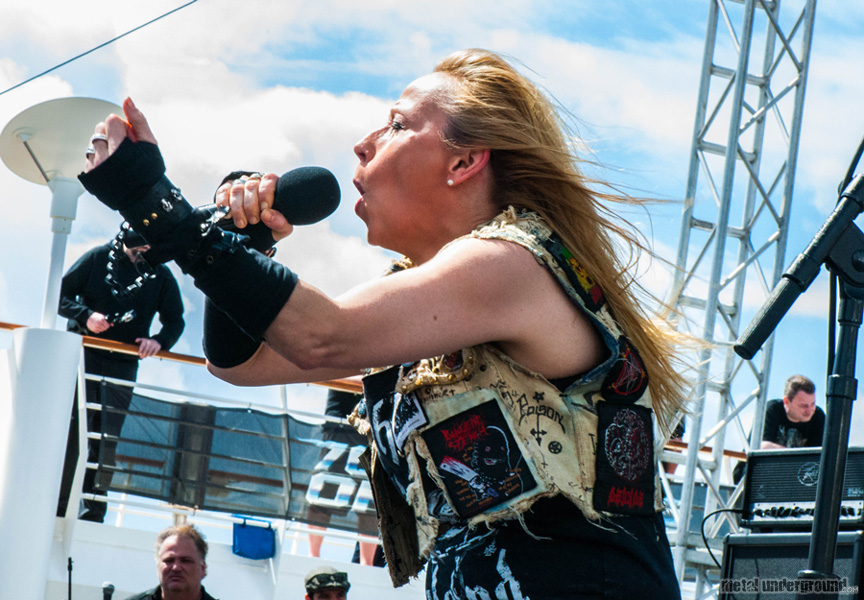 Holy Moses @ 70,000 Tons Of Metal 2016, Day 2