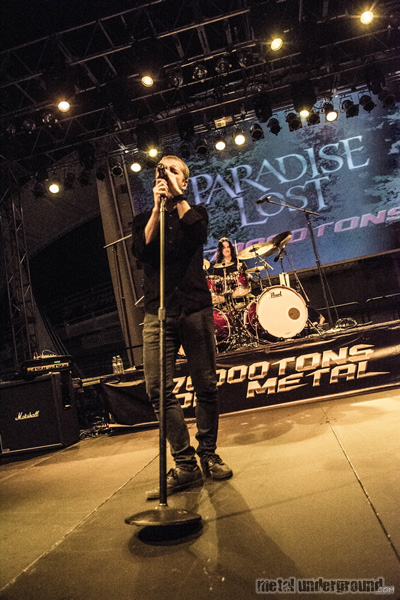 Paradise Lost @ 70,000 Tons Of Metal 2016, Day 2