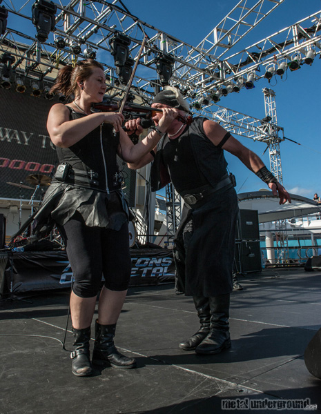 Subway To Sally @ 70,000 Tons Of Metal 2016, Day 2