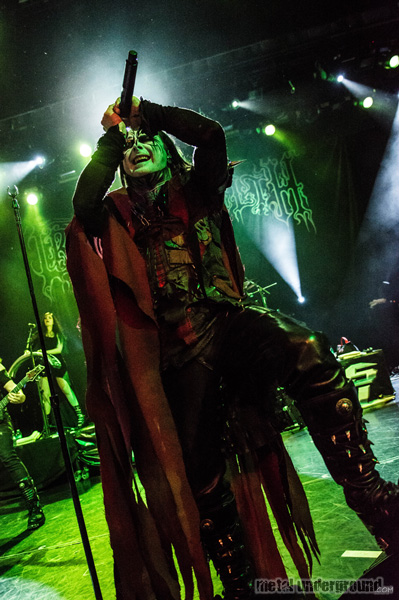 Cradle Of Filth @ 70,000 Tons Of Metal 2016, Day 4
