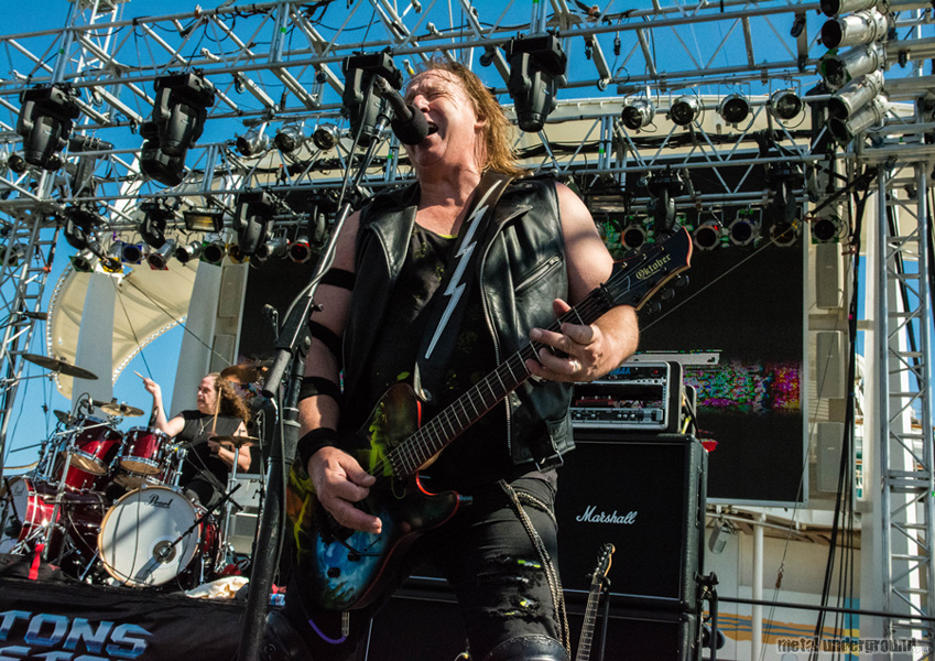 Raven @ 70,000 Tons Of Metal 2016, Day 4