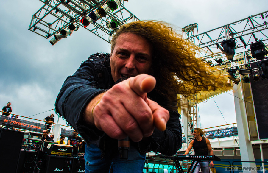 Rhapsody Of Fire @ 70,000 Tons Of Metal 2016, Day 4
