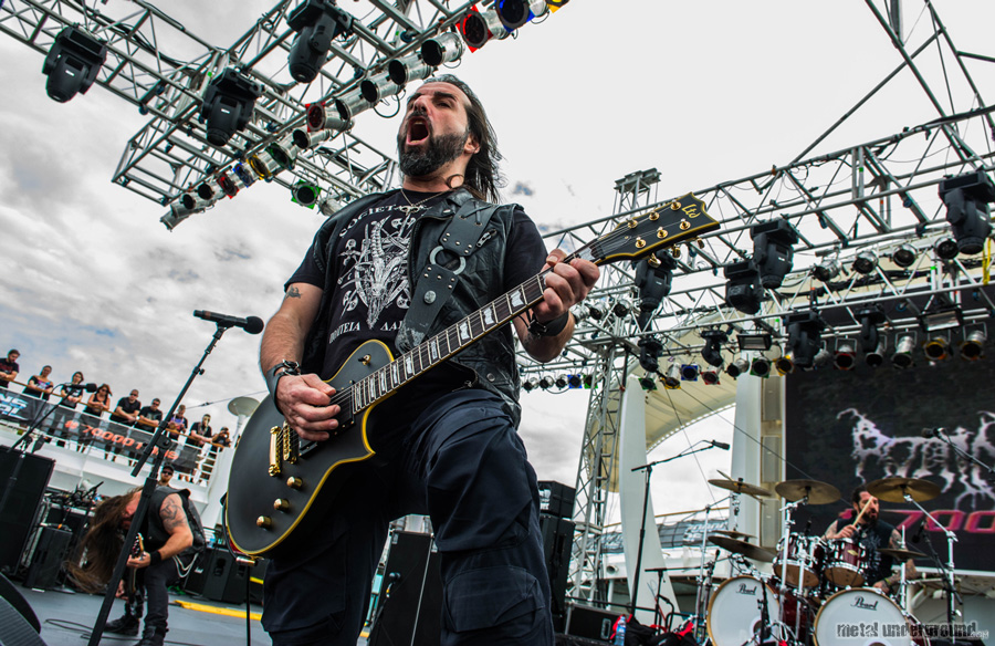 Rotting Christ @ 70,000 Tons Of Metal 2016, Day 4