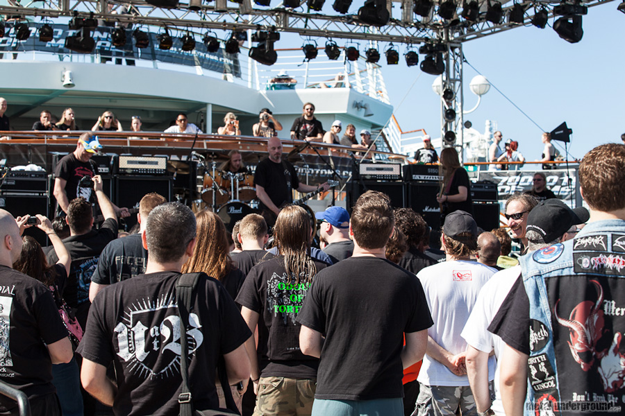 God Dethroned @ 70,000 Tons of Metal 2012, Day 2