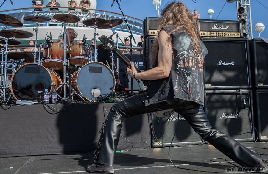 Gravedigger @ 70,000 Tons of Metal 2012, Day 4