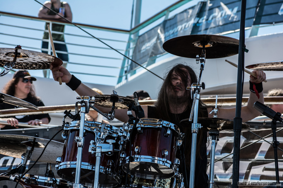 Bonfire @ 70,000 Tons of Metal 2014, Day 2