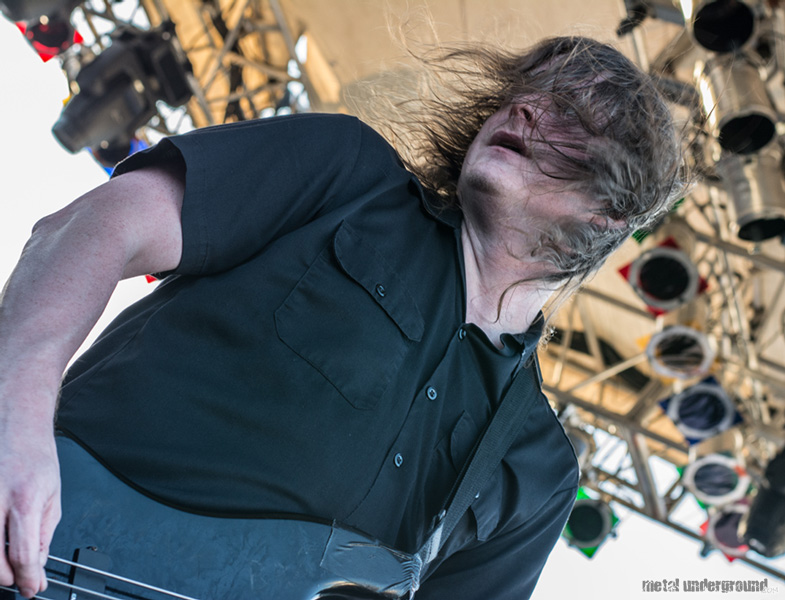 The Haunted @ 70,000 Tons of Metal 2014, Day 2
