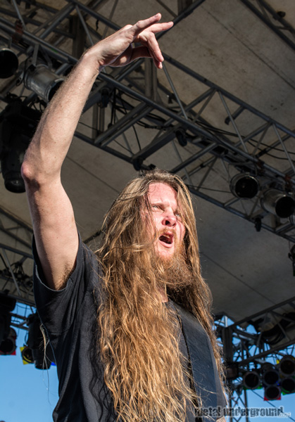 Obituary @ 70,000 Tons of Metal 2014, Day 3