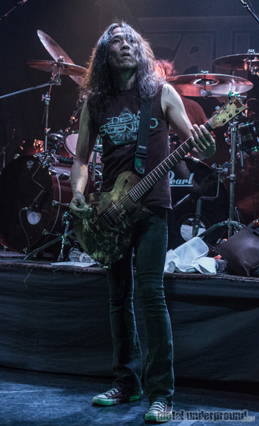 Death Angel @ 70,000 Tons of Metal 2014, Day 4