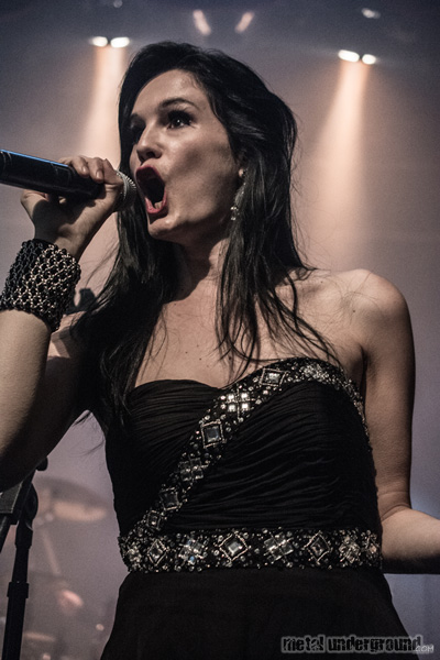 Xandria @ 70,000 Tons of Metal 2014, Day 4