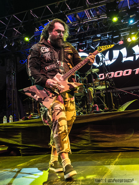 Soulfly @ 70,000 Tons of Metal 2015, Day 2
