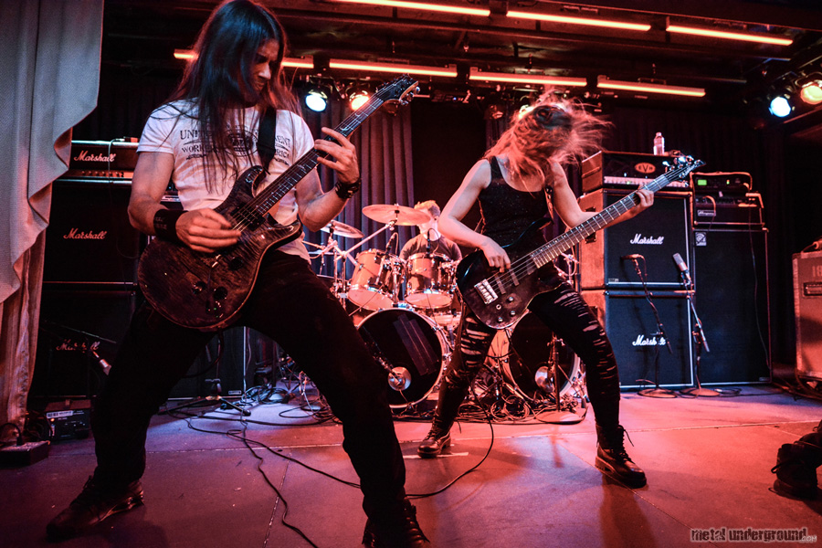 Triosphere @ 70,000 Tons of Metal 2015, Day 2