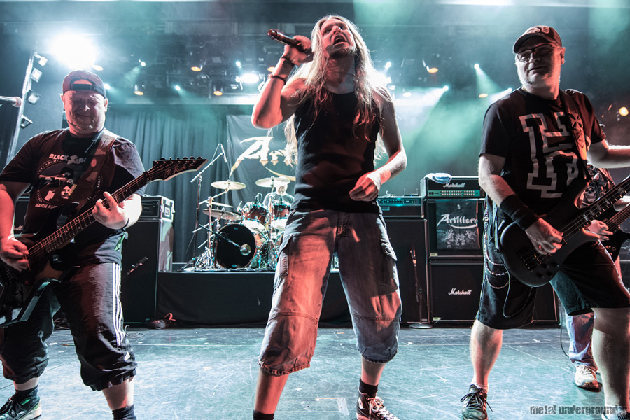 Artillery @ 70,000 Tons of Metal 2015, Day 3