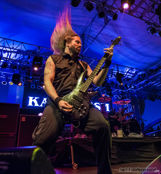 Kataklysm @ 70,000 Tons of Metal 2015, Day 3