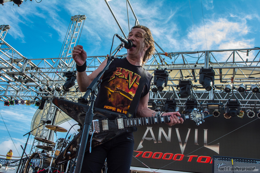 Anvil @ 70,000 Tons of Metal 2015, Day 4