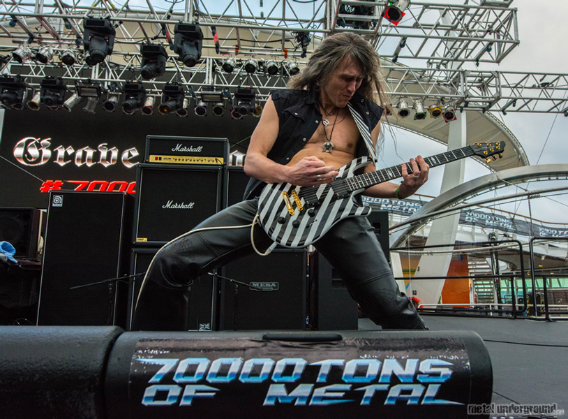 Grave Digger @ 70,000 Tons of Metal 2015, Day 4
