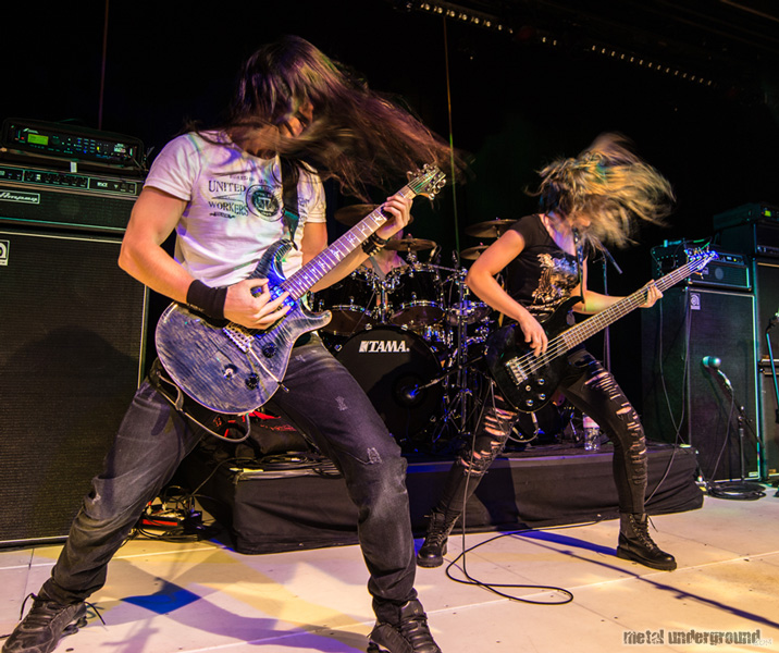 Triosphere @ 70,000 Tons of Metal 2015, Day 4