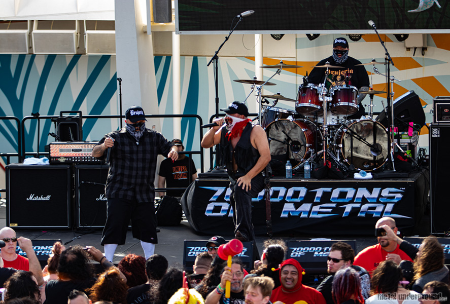 Brujeria @ 70000 Tons Of Metal 2020, Day 4