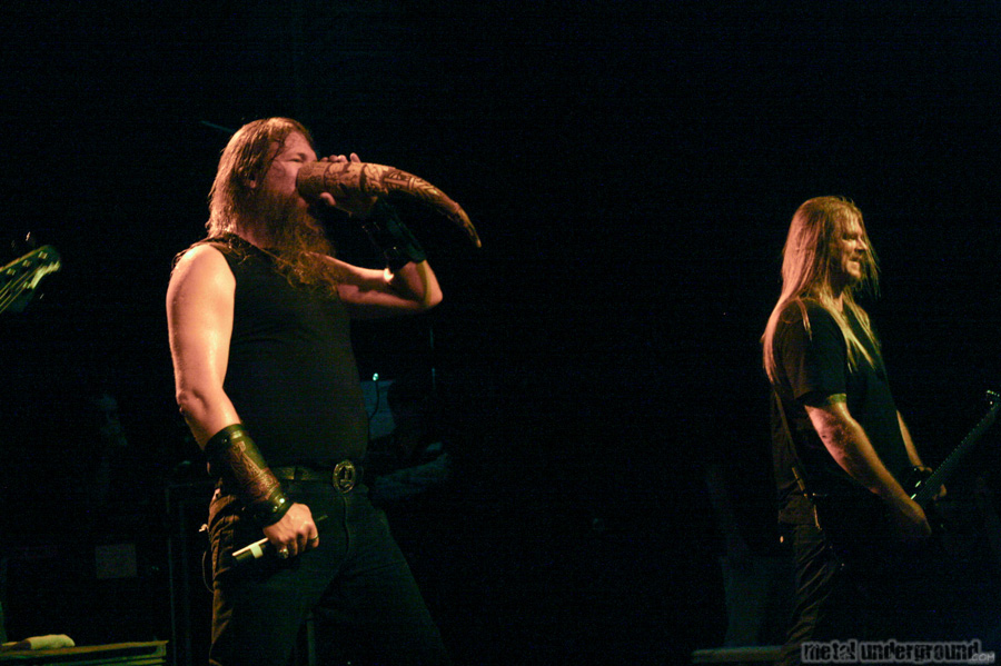 Amon Amarth @ Amon Amarth, Battlecross, Huntress (Nashville, TN)