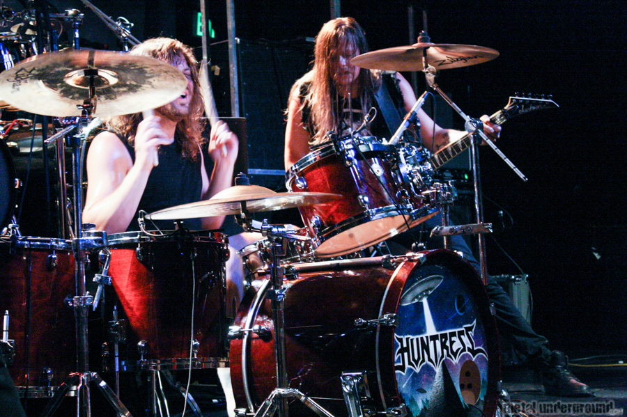 Huntress @ Amon Amarth, Battlecross, Huntress (Nashville, TN)