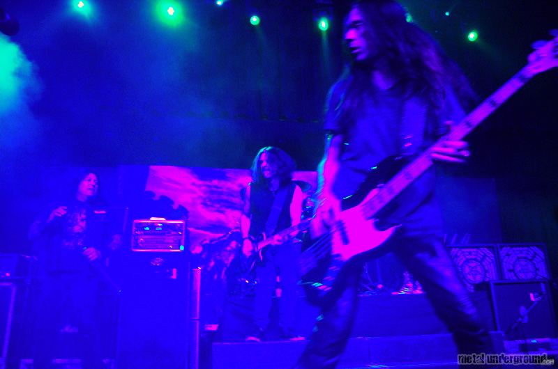 Testament @ Anthrax, Testament, and Death Angel (Austin, TX)