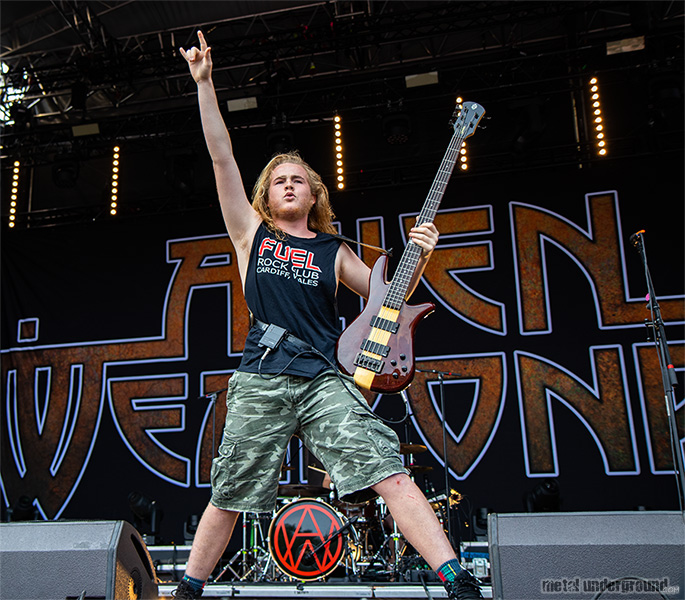Alien Weaponry @ Brutal Assault 24, Day 2