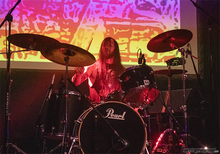 Heavy Temple @ Decibel Magazine Metal and Beer Fest 2019 (Philadelphia, PA)