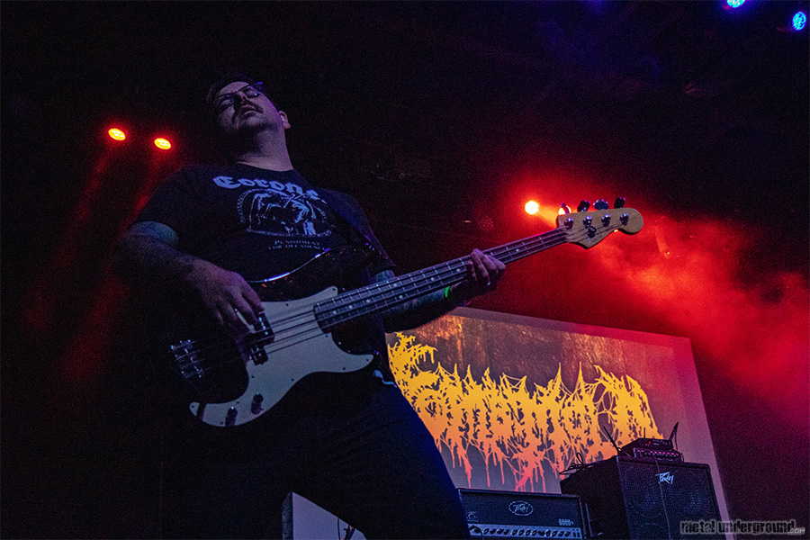 Tomb Mold @ Decibel Magazine Metal and Beer Fest 2019 (Philadelphia, PA)