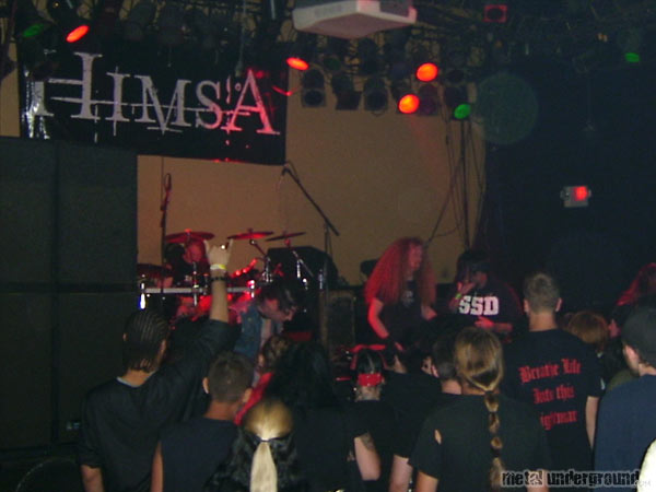 Himsa @ Dirty Black Summer Tour 2005 (Springfield, VA)