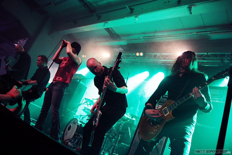 Swallow The Sun @ Finnish Metal Expo Day 1