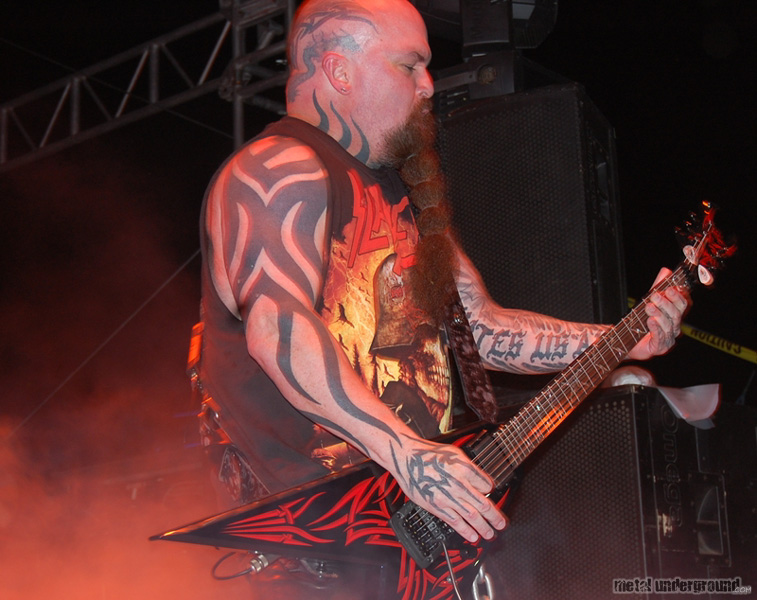 Slayer @ Fun Fun Fun Fest 2011, Day 3