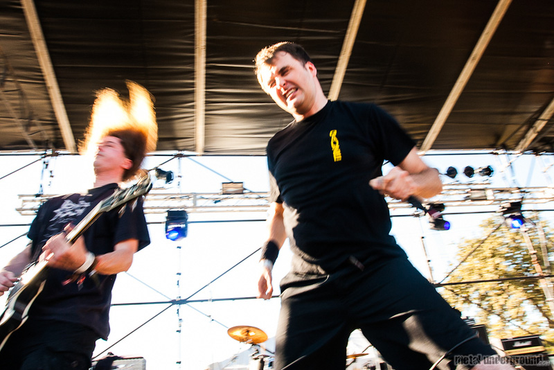 Napalm Death @ Fun Fun Fun Fest 2012, Day 1