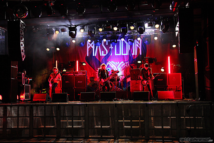 Mastodon @ Mastodon Sound Check and Performance (Helsinki, Finland)