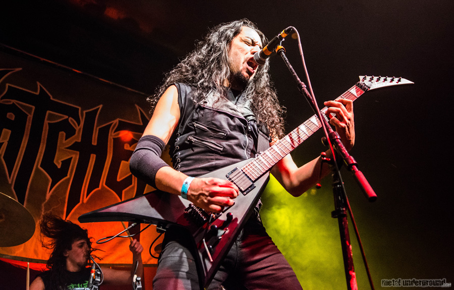 Hatchet @ Metal Church and Hatchet (Hartford, CT)