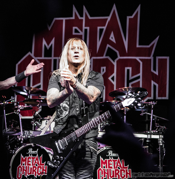 Metal Church @ Metal Church and Hatchet (Hartford, CT)