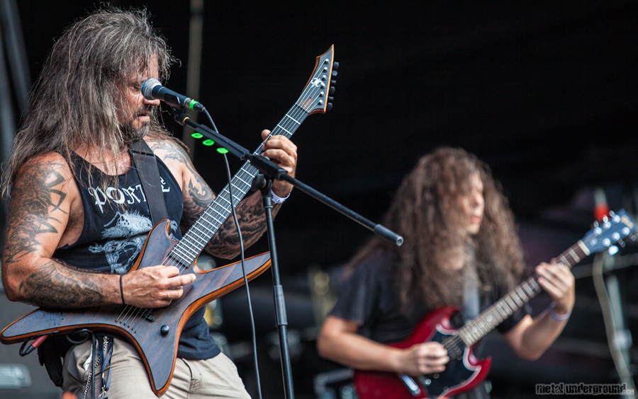 Gorguts @ Metalcamp 2012, Day 1