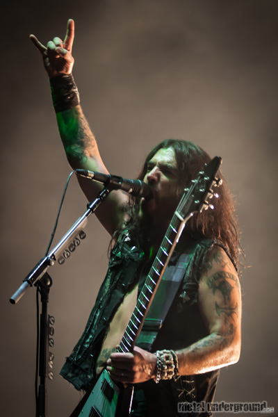 Machine  Head @ Metalcamp 2012, Day 1