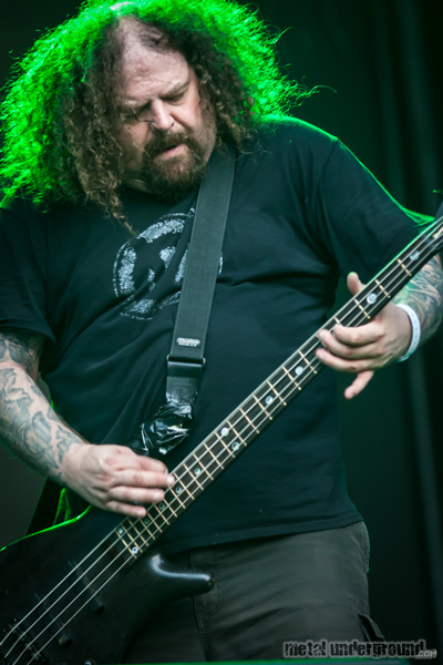 Napalm Death @ Metalcamp 2012, Day 1