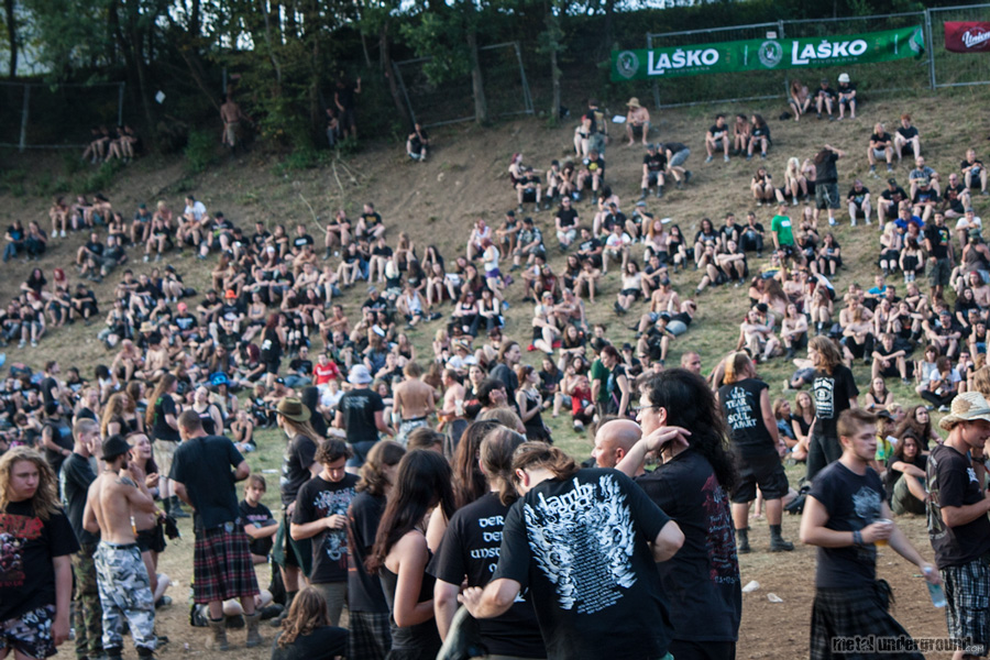 Crowd @ Metalcamp 2012, Day 2