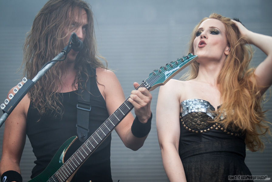 Epica @ Metalcamp 2012, Day 3