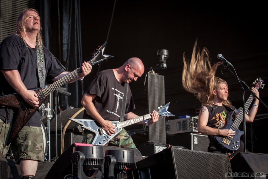 Nile @ Metalcamp 2012, Day 3