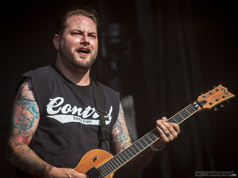 The Black Dahlia Murder @ Metalcamp 2012, Day 3